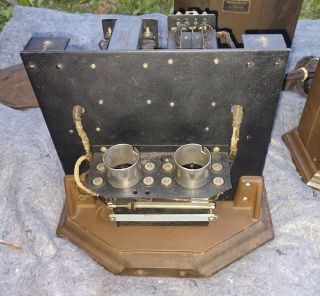 RARE MATCHING PAIR WESTERN ELECTRIC 25B AMPLIFIER USE 205D TUBE 42A,  46A 11