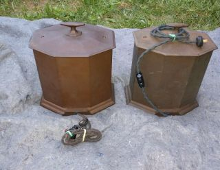 RARE MATCHING PAIR WESTERN ELECTRIC 25B AMPLIFIER USE 205D TUBE 42A,  46A 2