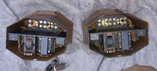 RARE MATCHING PAIR WESTERN ELECTRIC 25B AMPLIFIER USE 205D TUBE 42A,  46A 4