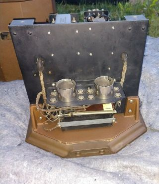 RARE MATCHING PAIR WESTERN ELECTRIC 25B AMPLIFIER USE 205D TUBE 42A,  46A 7