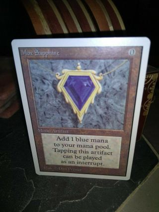 Magic The Gathering: Mox Sapphire Unlimited (power9)