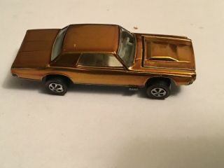 Rare Hot Wheels Redline Custom T - Bird 1967 Usa Gold No Black Roof Near Perfect