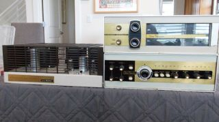 Vintage All Tube Component Stereo System - Sargent Rayment