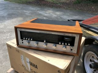 Vintage Marantz 2235 Stereo Receiver Led With Factory Wood Case