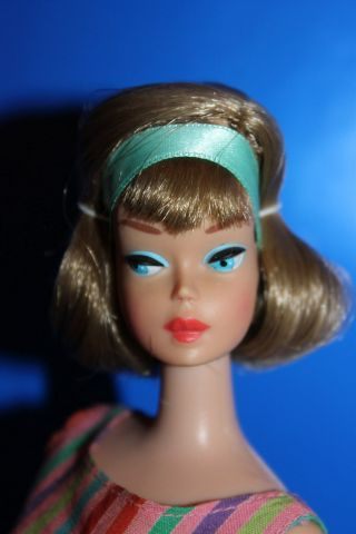 Vintage Barbie American Girl Side Part - No Retouches And More.