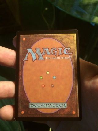 Mox Ruby Unlimited Mtg Power 9 Vintage Vf