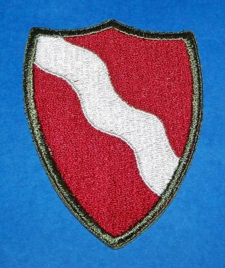 Ultra Rare Cut - Edge Ww2 3rd Engineer Brigade Patch,  A Real One