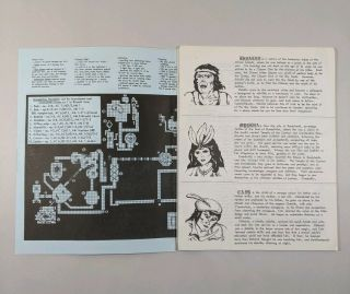 AD&D Lost Tamoachan Advanced Dungeons & Dragons TSR 1979 Vintage RARE Module 2