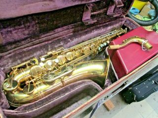 Vintage Selmer Mark Vi Tenor Saxophone,  1962 Pads,  Great Tone & Investment