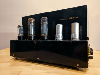 Vintage Echo Beam Limited Avantic Dl7 - 35 Rare Tube Amp Mullard Monoblock Uk