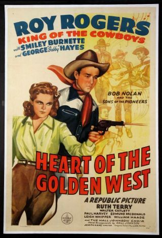 Vintage Movie 16mm Heart Of The Golden West Feature 1946 Film Drama Western