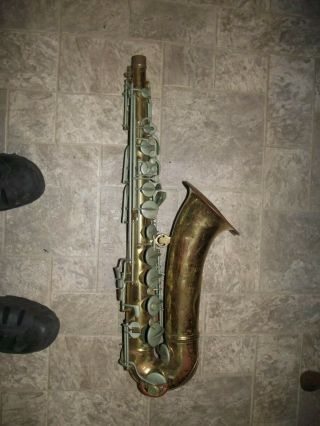 Vintage Conn 10m Tenor Saxophone Part Or