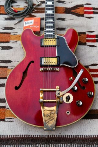 1961 Gibson Es - 355 Td Stereo Vintage Guitar,  Electric Guitar