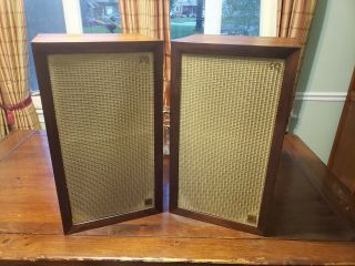 Vintage Acoustic Research Ar - 3 Ar3 Loudspeakers Speakers -