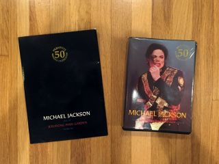 Michael Jackson Collectible Vhs 2 Cd Book Set Jerudong Park Rare Non - Released