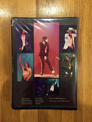 Michael Jackson Collectible VHS 2 CD Book Set Jerudong Park Rare Non - Released 4