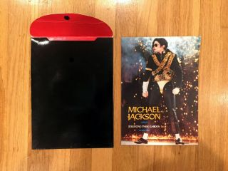 Michael Jackson Collectible VHS 2 CD Book Set Jerudong Park Rare Non - Released 7