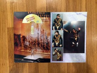Michael Jackson Collectible VHS 2 CD Book Set Jerudong Park Rare Non - Released 8
