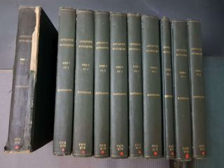 Rare Complete Set Of 15 Vols - L