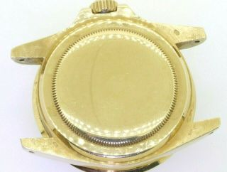 Rolex Submariner 1680 18K YG Rare Gilt nipple dial 5.  27mil serial watch head 3