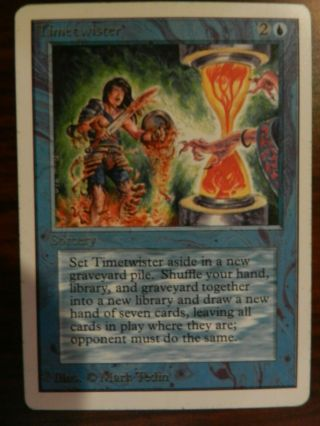 Mtg Unlimited Timetwister