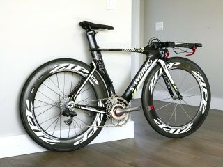 Rare Specialized S - Team Htc - Highroad Shiv Tt Bike Srm Dura Ace Di2 Pro