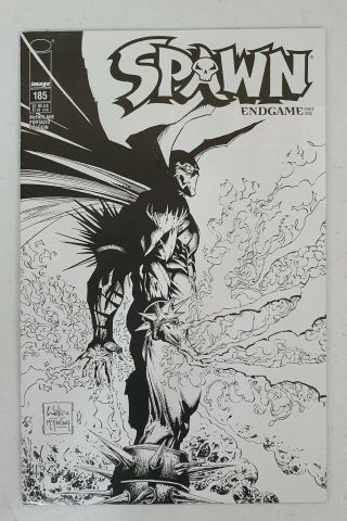 Spawn 185 Endgame Part 1 Limited Sketch Variant Cover By Whilce Portacio Rare