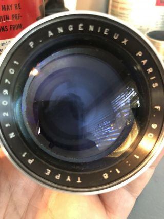 Angenieux 90mm F1.  8 Type P1 Vintage France Exakta Exacta Exa Mount Lens