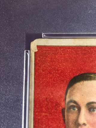 1909 - 11 T206 Ty Cobb RED PORTRAIT,  TOLSTOI PSA 2.  5 Good,  Rare Back 11