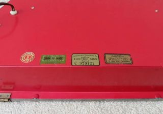 NICEST VINTAGE 1950 COCA COLA LIGHTED CASHIER PAY WHEN SERVED SIGN NO RES 3