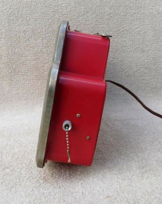 NICEST VINTAGE 1950 COCA COLA LIGHTED CASHIER PAY WHEN SERVED SIGN NO RES 4