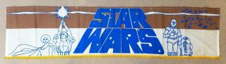 Star Wars ✯ Cinemasterpieces Very Rare Lobby Banner Movie Poster 1977