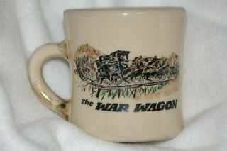 Rare Vintage John Wayne Mug The War Wagon Duke The Mug Shop Not Cast Or Crew