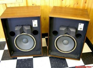Rare James B.  Lansing Jbl L200 L - 200 Studio Master Speakers Le15b Le85 Lx16