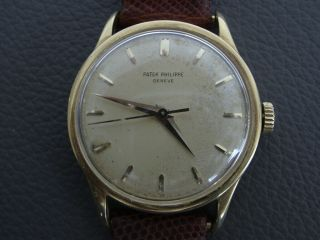 Patek Philippe Ref.  570 Rare Oversized Model Dial For The Collector.