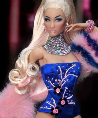 Rare Kingdom Doll Envy,  Resin British Fashion Model Bjd