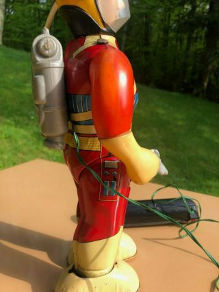Rare & Complete 1960s San (Japan) Captain Ultra Robot Spaceman RC BO C9 10