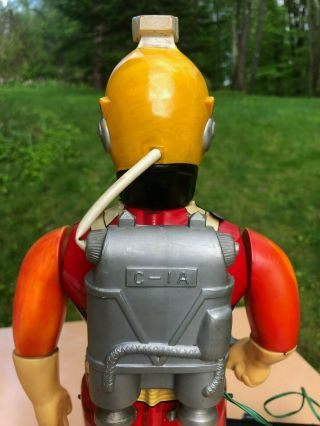 Rare & Complete 1960s San (Japan) Captain Ultra Robot Spaceman RC BO C9 8