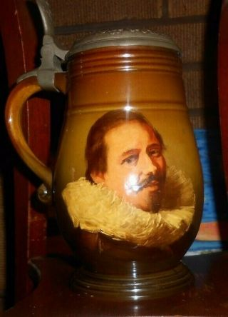 Rookwood Pottery Dutch Portrait Stein.  1890s Matt Daly Rare