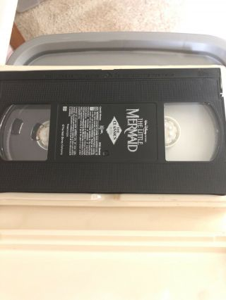 The Little Mermaid (VHS,  1990) Rare Banned Cover 4