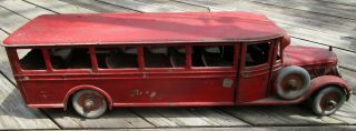 Buddy L Pressed Steel Bus 1920