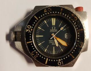 Rare Omega Auto Seamaster 600 Ploprof Australian Navy Divers Watch