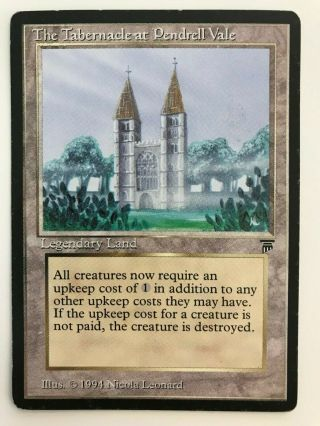 Mtg Legends The Tabernacle At Pendrell Vale Magic The Gathering