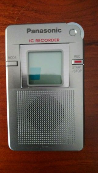 Panasonic Rr - Dr60 -.  Made In Japan.  Rare Early Serial Number