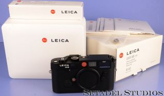 Leica Leitz M6 10413 Classic 0.  85 Black Rangefinder Camera Body,  Box.  Rare