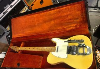 Vintage 1968 Fender Telecaster W/original Bigsby All One Owner