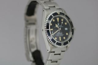 Rolex Sea - Dweller Rail Dial Vintage Automatic Dive Watch Circa 1970s Ref 1655 2