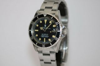 Rolex Sea - Dweller Rail Dial Vintage Automatic Dive Watch Circa 1970s Ref 1655 3