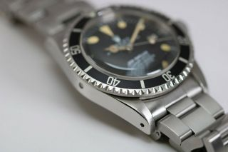 Rolex Sea - Dweller Rail Dial Vintage Automatic Dive Watch Circa 1970s Ref 1655 7