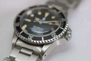 Rolex Sea - Dweller Rail Dial Vintage Automatic Dive Watch Circa 1970s Ref 1655 8